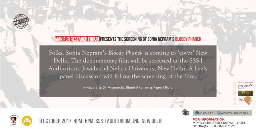 Bloody Phanek to be screened in JNU, New Delhi